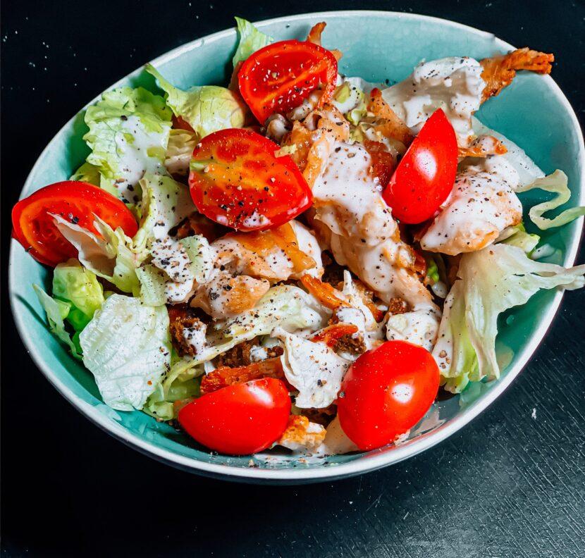 Ensalada de pollo inapesa