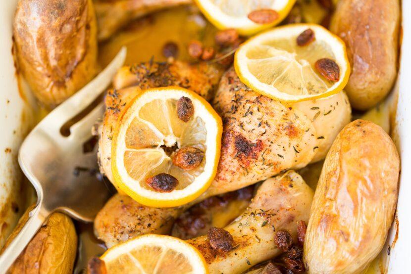 Pollo inapesa con limón
